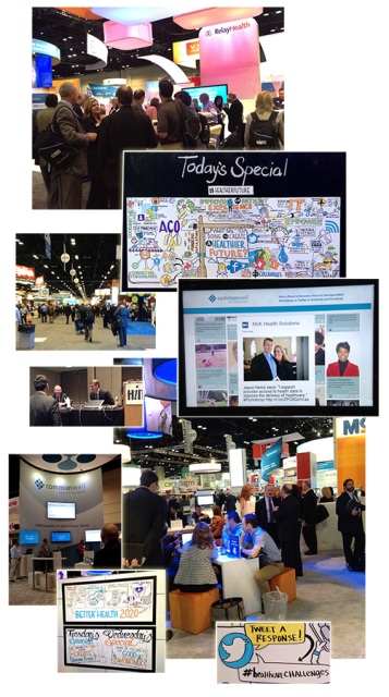 Images from HIMSS 2014.
